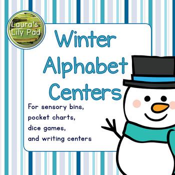 Winter Alphabet Centers