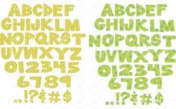Winter Alphabet Clipart by Poppydreamz