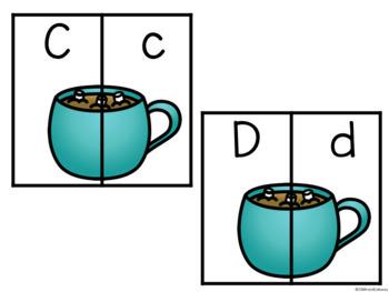 Winter Alphabet Match