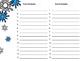 Winter Alphabet Order Cards