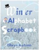 Winter Alphabet Scrapbook