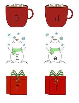 Winter Alphabet Sort