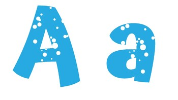 Winter Alphabet and Word Wall Words