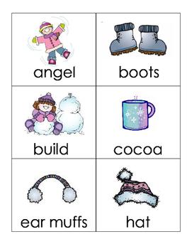 Winter Alphabetical Order