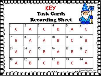 Winter Analogies Task Cards