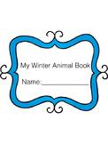 Winter Animal Activity Book