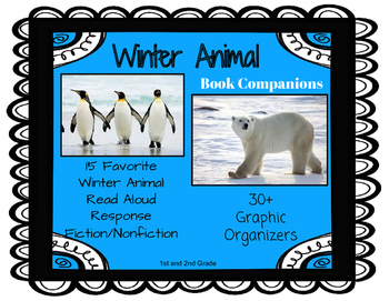 Winter Animal Book Companions: 30+ Common Core Story Response Sheets