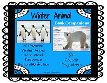 Winter Animal Book Companions: 30+ Common Core Story Respo