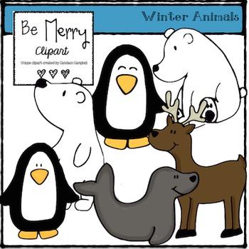 Winter Animal Clipart