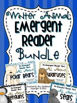 Winter Animal Emergent Reader Bundle