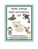 Winter Animal Math & Literacy Unit: 10 frames, teacher book+ more