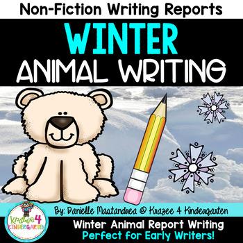 Winter Animal Report Writing- 24 Winter Animals