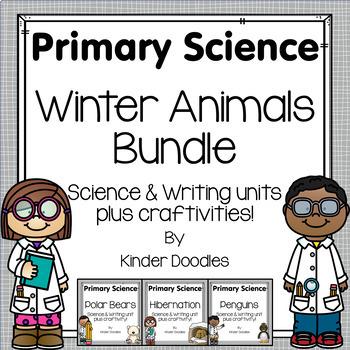 Winter Animal Science & Writing Bundle