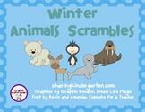 Winter Animal Scrambles