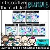Winter Animal Speech Therapy Activities: Interactive Unit