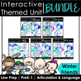 Winter Animal Speech Therapy Activities: Interactive Unit