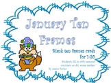 Winter Animal Ten Frames - 1-20