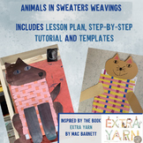 'Extra Yarn' Inspired Animals in Sweaters Weavings