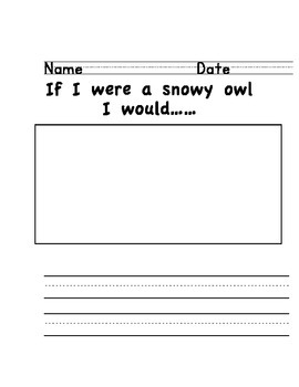 Winter Animal Writing Set