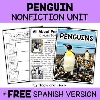 Nonfiction Units - Winter Animals Bundle