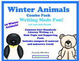 Winter Animals Common Core Bundle with Free CGI Sample!