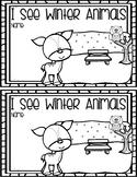 Winter Animals Emergent Reader