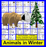 Animals in Winter Readers - Hibernation, Migration, and Ad