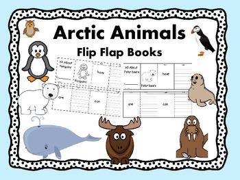 Winter Animals Flip Flap Books