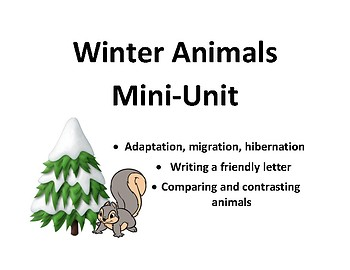 Winter Animals Mini Unit