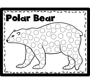 Winter Animals Dobber Pack ~ No Prep