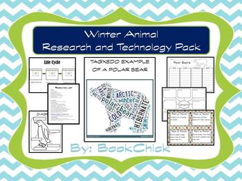 Winter Animals Research with 2 Technology Projects