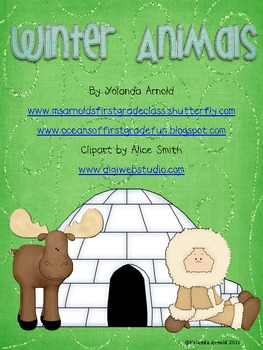 Winter Animals Unit