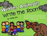 Winter Animals Write the Room