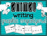 Animal Writing Graphic Organizers
