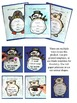 Winter Animals and Snowman Writing Activity Flip Books