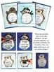 Winter Animals and Snowman Writing Activity Flip Books