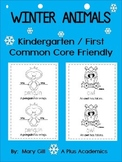 January Kindergarten / First  - Winter Emergent reader -  Animals