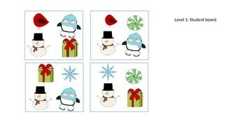 Winter Answering and Asking Questions: Can you find MY Snowman? Level 1,2 & 3