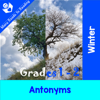 Winter Antonyms: Grades 1-2