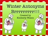 Winter Antonyms I have Who has