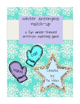 Winter Antonyms Match-Up