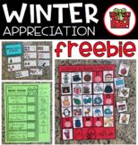 Winter Appreciation Freebie