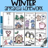 Winter Apraxia Homework
