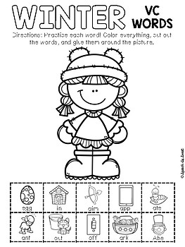 Winter Apraxia: Snip and Stick!