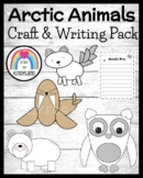Winter / Arctic Animal Craft & Writing Pack: Fox, Polar Bear, Walrus, Snowy Owl
