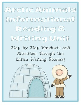 Winter Arctic Animals Nonfiction Informational Reading & Writing Unit
