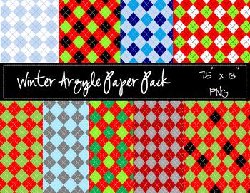 Winter Arglye Paper Pack