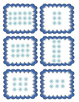 Winter Arrays & Repeated Addition Match Game 2.OA.C.4