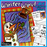 Winter Art Activity: Winter Wind, Christmas