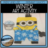 Winter Art Project : Print and Make for A Great Bulletin Board